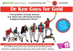 Dr Ken Goes for Gold brochure