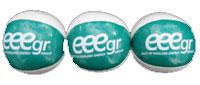 EEEGR branded juggling balls