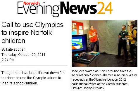Eastern Evening News 2012 article