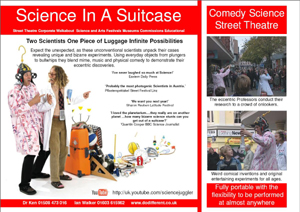 Science In a Suitcase brochure