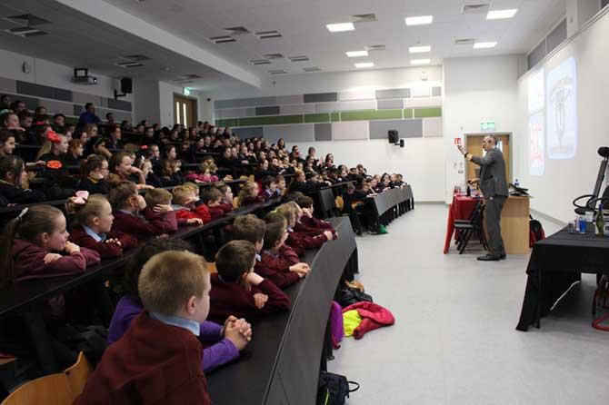 Audience in IT Carlow, Ireland